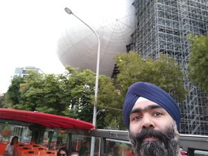 This building surely needs to loos some Belly fat #SelfieWithAView #TripotoCommunity