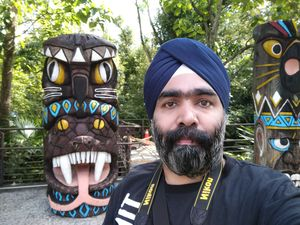 The tribal face... #SelfieWithAView #TripotoCommunity