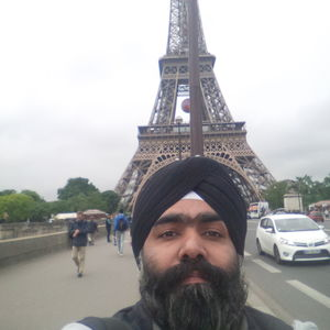 La Dame de Fer....  The Iron Lady standing tall ever since.. #SelfieWithAView #TripotoCommunity