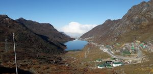 A Beautiful View of Tsongmo Lake, Sikkim