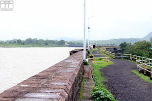 In The Lap Of Darna, The Gravity Dam In Nashik