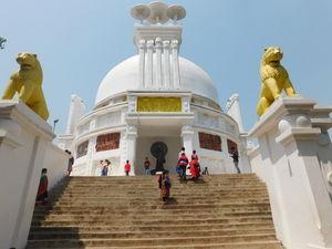 Dhauligiri Shanti Stupa 1/undefined by Tripoto