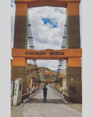 At Asia's highest bridge 13.5k ft