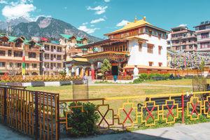 Manali Monastery #BestTravelPictures @jetairways @tripotocommunity