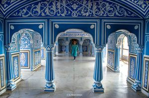CITY PALACE OF JAIPUR . Rajasthan, India