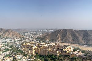 AMER FORT . Rajasthan, India