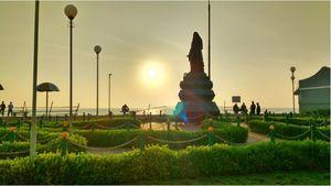 Mon voyage à la ville française -Pondicherrry