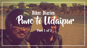 Biker Diaries: Pune to Udaipur- 900 km across 3 states in 2 days!!! ( Part 1 of 2 )