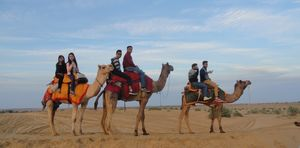 Sam Sand Dunes, Jaisalmer - A Photo Tour