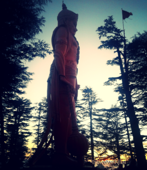 Jakhoo Temple - World's tallest statue at the highest elevation in Shimla