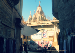 Jain Temple Inside Jaisalmer Fort - A Photo Tour