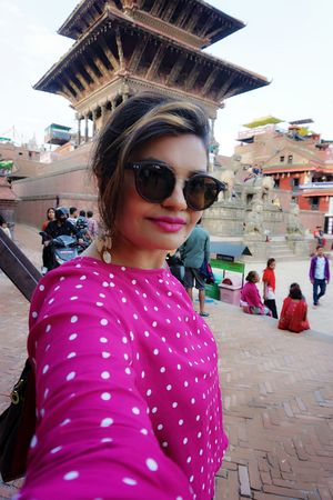 The heritage of Bhaktapur Darbar Square  #SelfieWithAView #TripotoCommunity