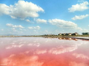 This Secret Pink Lake and Spa is perfect for your Instagram feed! And it is free too!