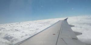 My first flight journey