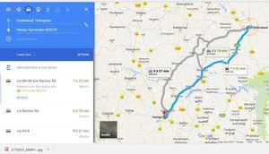 Hyderabad to Hampi:Visit to the capital of Vijaynagara Empire