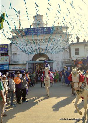 Holla Mohalla in Paonta SahibGurudwara H.P.