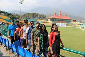 Most beautiful cricket stadium in India