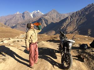 Adventure Madness : Doing 1492 kms in 2 days to the toughest road of India.