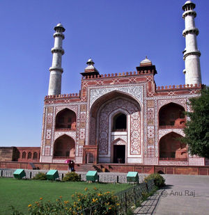 Agra Diaries – Sikandara Complex
