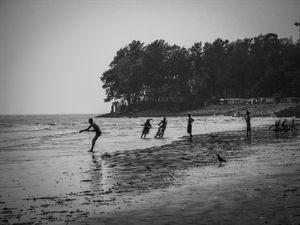 A day in solitude with the roaring sea of Chandipur