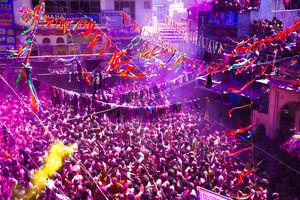 Colorful Indian festivals - Incredible India - Holi at the holy land of Pushkar @tripotocommunity
