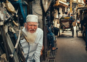 Streets of Chandni Chowk, Old Delhi