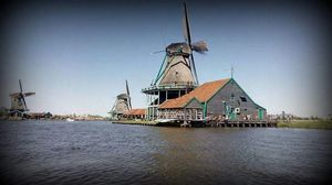 Explore the amazingly beautiful colors of Tulips  & beautifully preserved windmills !