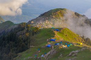 A List of Some of the Best Camps and Their Rates in Triund