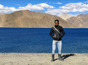 Leh Ladakh on Enfield