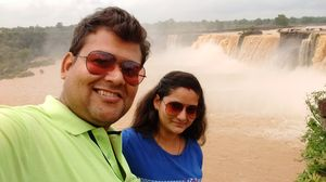 #selfiewithaview #tripotocommunity Forget Niagara Falls...We have CHITRAKOTE FALLS. ????????❤️