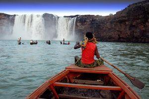 Chitrakoot Waterfalls InChhattisgarh Are India's Answer To Niagara Falls