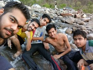 How we ended up rafting twice than not rafting at all : Rishikesh