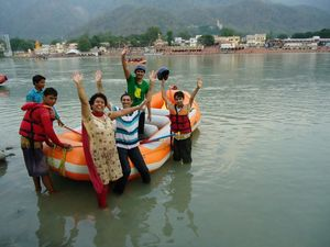 River Rafting In The Yoga Capital of India