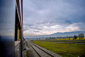 Kashmir Jammu train journey