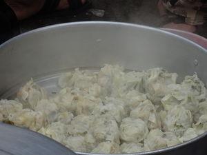 Mini China in Kolkata, India - scrumptious Chinese breakfast
