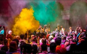 Holi at Vrindavan, My First solo trip: An out of the Ordinary experience