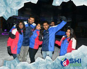 Skiing in Noida