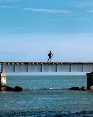 Rameswaram: A Glimpse of the Sea from India's First Sea Bridge