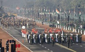 Celebrating India's 69th Republic Day Parade in New Delhi