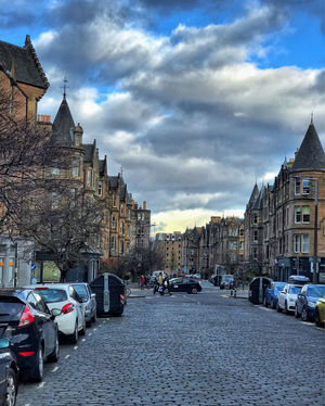 The beautiful city of Edinburgh