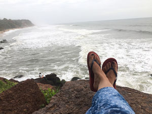 Varkala is not a hidden gem anymore!