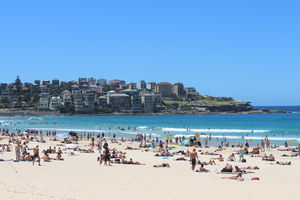 Pacific Blues At Bondi Beach, Sydney! #colourblue