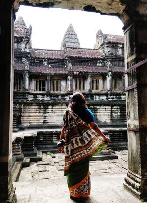 Exploring Angkor In A Saree: An Experience To Remember!