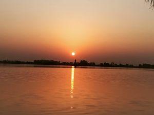 Sunrise point at Hyderabad