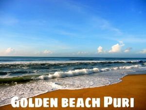 "Experience the best Sun- kissed beaches here in ""Puri"""
