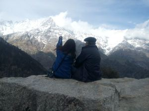 Father-Daughter Duo Treks to Triund: A Photologue