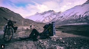 This 17-Year-Old Went For A Solo Cycling Trip To Spiti In Winter; His Story Is Sure To Astonish You!