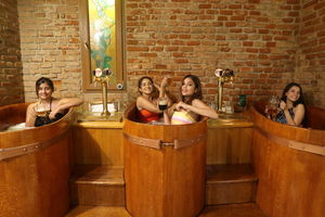 Attention, Beerholics! You Can Now Take Your Passion For Drinking to New Heights at This Beer Spa!