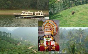 Enchanting Kerala: Cochin-Munnar-Thekkady