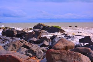 Explore ' Tilmati ' , the One of a kind Black Sand Beach in India